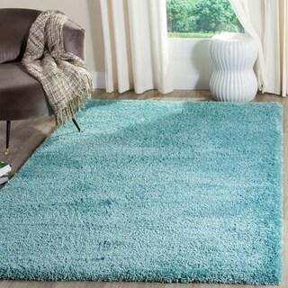 Safavieh Reno Shag Turquoise Polyester Rug (8' x 10')