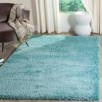 Safavieh Reno Shag Turquoise Polyester Rug - 8' x 10'