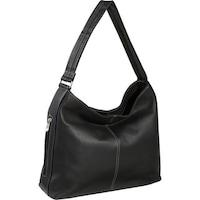 Shop Royce Leather Women s Columbian Leather Black Hobo Handbag ... a2420a159f0de