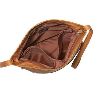 LeDonne Leather Bucket Shoulder Bag