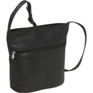 LeDonne Leather Bucket Shoulder Bag