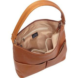 LeDonne Hickory Leather Shoulder Bag
