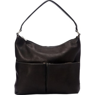 LeDonne Hickory Leather Shoulder Bag