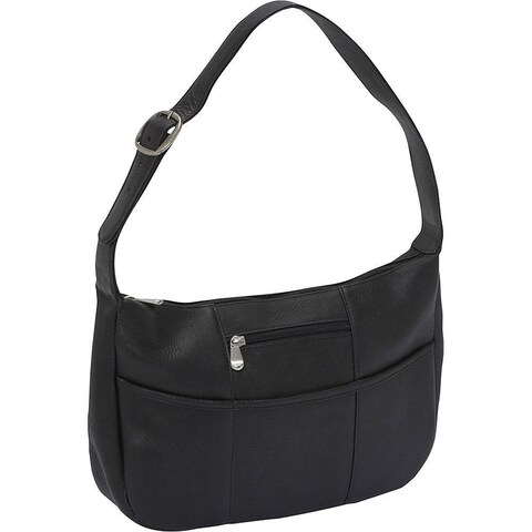 LeDonne Leather Quick Slip Leather Shoulder Bag