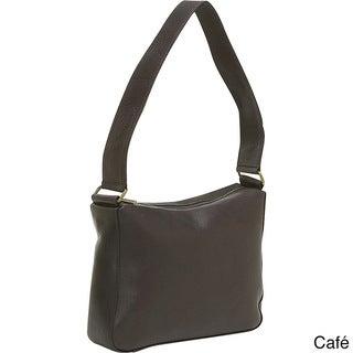LeDonne Top-zip Leather Shoulder Bag