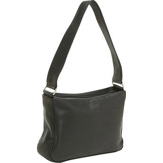 LeDonne Leather Top-zip Leather Shoulder Bag