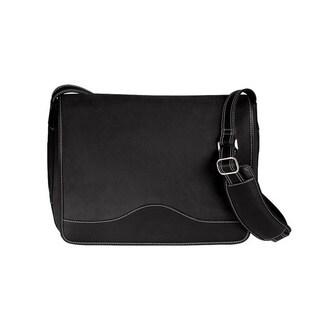 Goodhope Commander Bellino Black or Brown Leather Vintage Messenger Bag