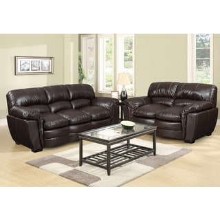 Picket House Carter Sofa Set in Brown