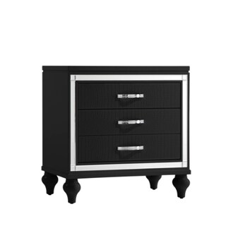 Picket House Vice Nightstand in Black