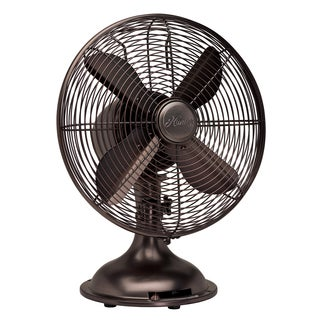 Hunter 12-inch Oil-rubbed Bronze Finish Retro Fan
