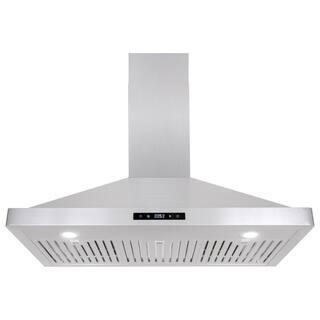 Cosmo 631S Series Range Hood 760 CFM Ducted Wall Mount in Stainless Steel - Stainless Steel