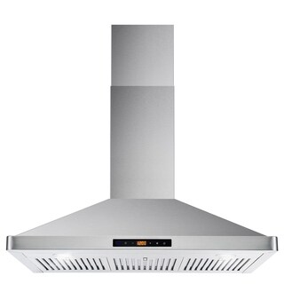 Cosmo 36-inch Range Hood 760 CFM Ducted Wall Mount in Stainless Steel - STAINLESS STEEL