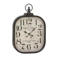 The Gray Barn Jartop Metal Glass Wall Clock