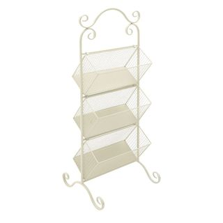 Awesome Metal 3 Tier Rack White
