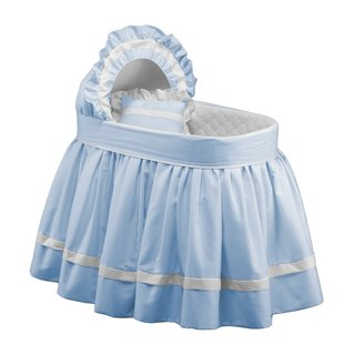 Baby Doll Blue Sweet Petite Bassinet Set