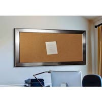 American Made Rayne Silver Rounded Corkboard