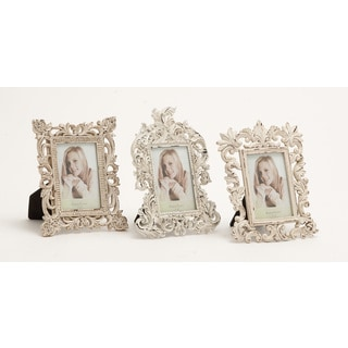 Alluring Polystone Photo Frame 3 Assorted