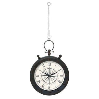 Wall Clock In Roman Style Number And Trudy Design