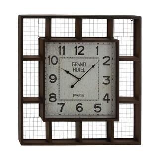 Elegant Styled Creative Metal Wall Clock