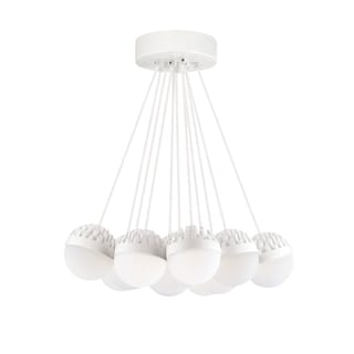 LBL Sphere 11 Light Rubberized White and Frost Suspension