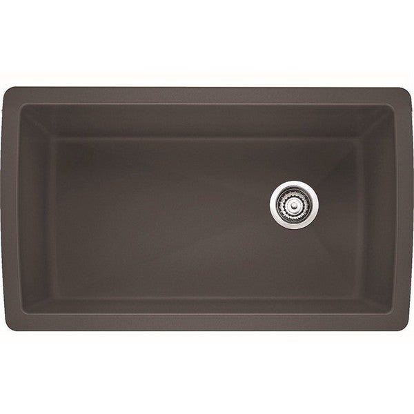 Blanco Diamond U 1 3 4 : Blanco Diamond 1.0 Cinder Super Single U Kitchen Sink - Free Shipping ...