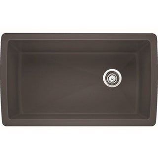 Blanco Diamond 1.0 Cinder Super Single U Kitchen Sink