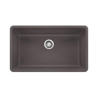 Blanco Precis Cinder Granite Single-bowl Basin