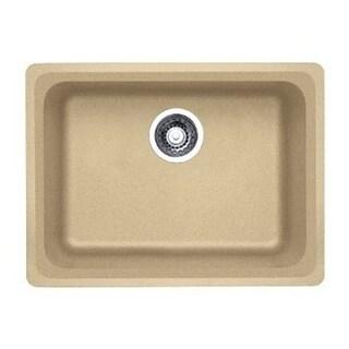 Blanco Vision Biscotti Granite 18-inch x 24-inch x 7.75-inch Medium Single Bowl