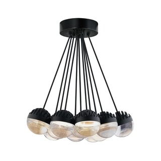 LBL Sphere 11 Light Rubberized Black and Cast Clear Suspension