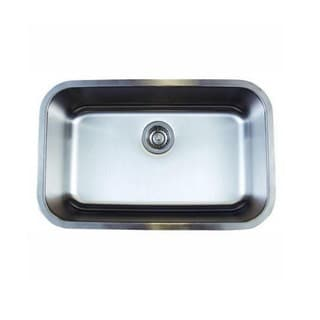 Blanco Stellar Stainless Steel 18-inch x 28-inch x 9-inch Undermount Kitchen Sink