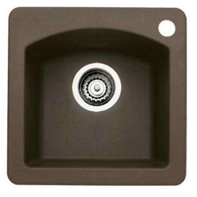 Blanco Diamond Silgranit II Brown Granite Bar Sink (Brown)