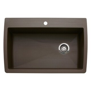 Blanco Diamond Super Caf� Brown Granite Single Bowl Kitchen Sink