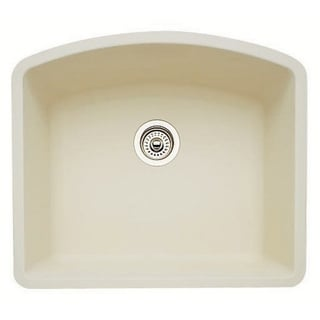 Blanco Diamond Silgranit II Biscuit Granite Single-bowl Kitchen Sink