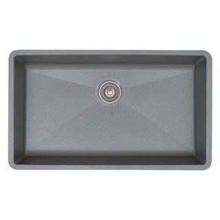 Blanco Prcis Super Metallic Gray Single Bowl Sink