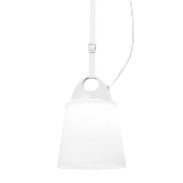 LBL Karif 1 Light Opal White Line-Voltage Pendant