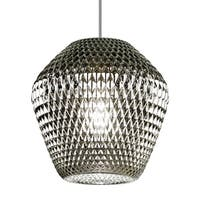 LBL Ornata 1 Light Silver Satin Nickel Line-Voltage Pendant