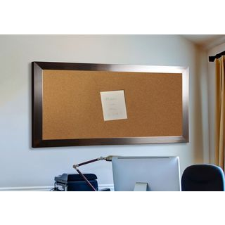 American Made Rayne Silver Petite Corkboard (More options available)