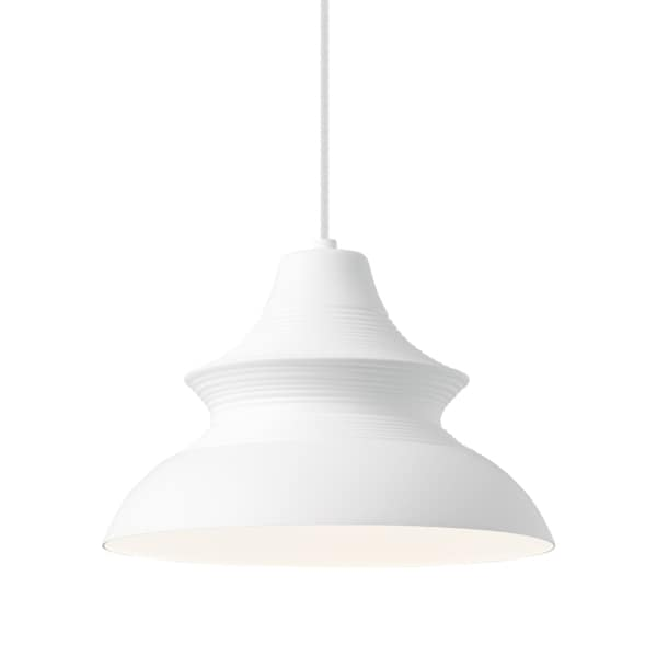 LBL Togan 1 Light White Line-Voltage Pendant