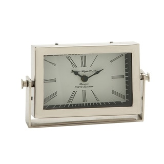 Classic & Exclusive Steel Table Clock
