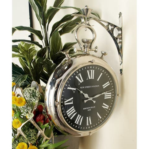 Splendid Steel Wall Clock