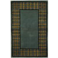 Herat Oriental Indo Hand-tufted Tibetan Wool Area Rug - 3'6 x 5'6