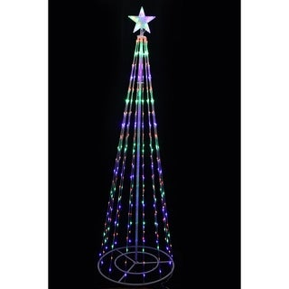 83 Christmas Tree Tower w/ 8 Functions and 300 LED Lights