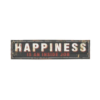 Encouraging & Exclusive Metal Wall Sign