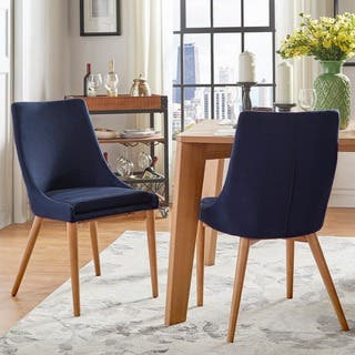 Buy Blue Bohemian Eclectic Kitchen Dining Room Chairs Online At