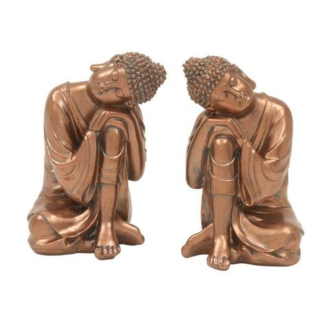 The Curated Nomad Castenada Pleasing Buddha (Set of 2)