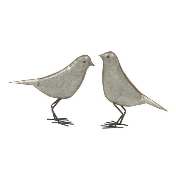 The Gray Barn Jartop Metal Bird (Set of 2). Opens flyout.