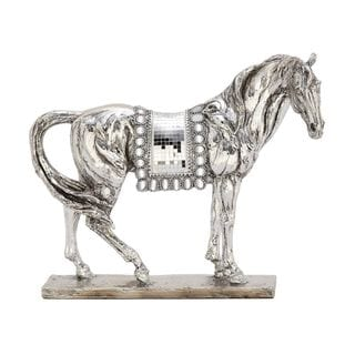 Attractive Ps Mosaic Silver Horse
