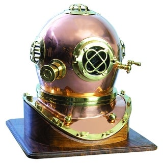 Brass Diving Helmet Compact Design For (Small)er Spaces