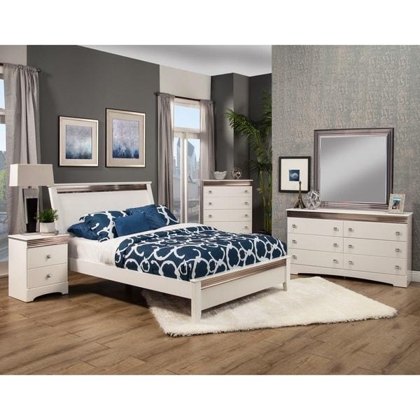 Sandberg Furniture Celeste Bedroom Set - Free Shipping Today ...