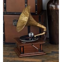 Wood Metal Gramophone For Matching Your Passion For Music